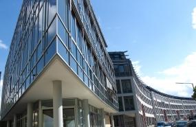 Fotostudio Focus Architekturfotografie Glasfront Gebäude
