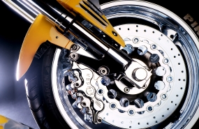 Fotostudio Focus Fahrzeugfotografie Motorrad Vorderrad