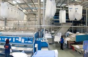 Fotostudio Focus Industriefotografie Panorama Wäscherei