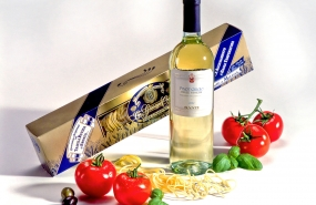 Fotostudio Focus Werbefotografie Wein Pasta