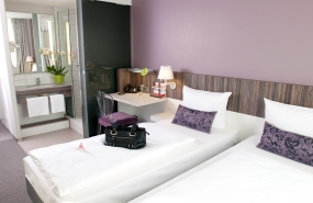 Fotostudio Focus Werbefotografie Hotelzimmer Betten